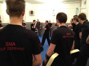 Cours de SMA self defense au club 49 Babylone, Paris